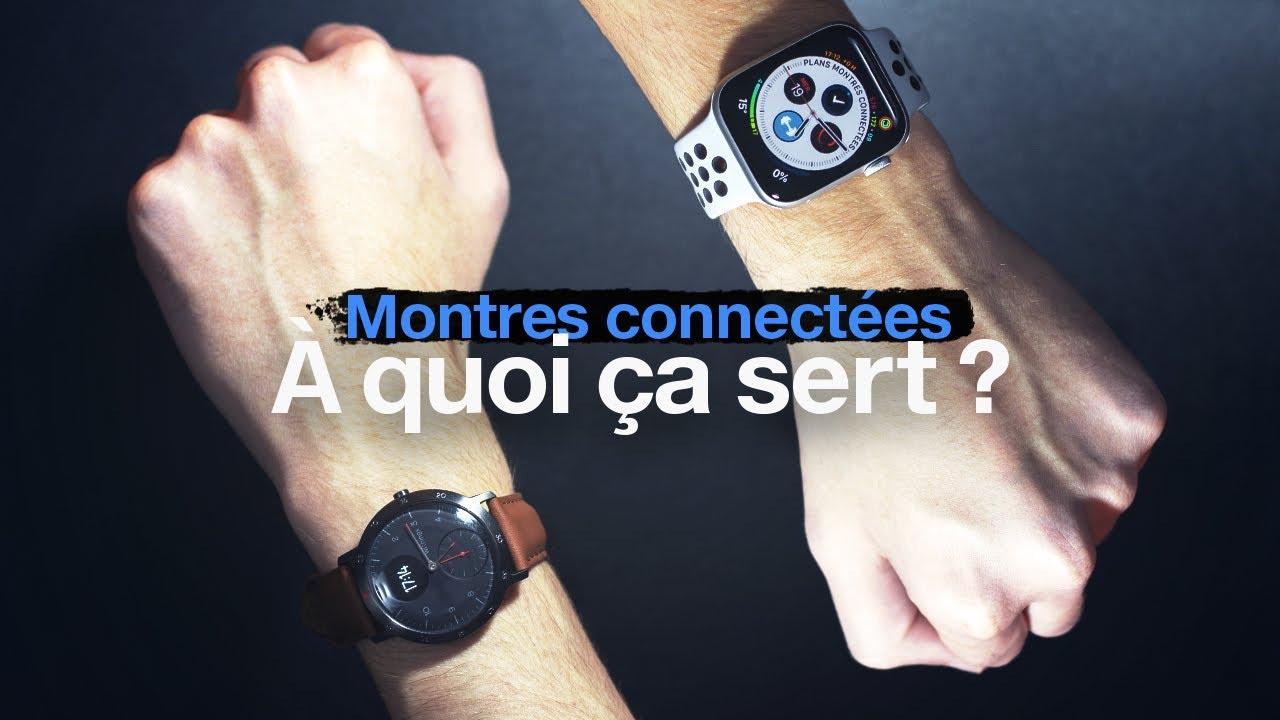 a quoi sert une montre connectée